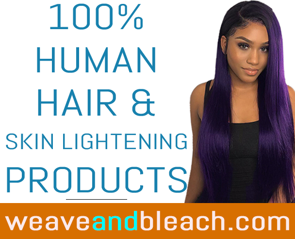 100% Brazilian hair weave skin lightening products